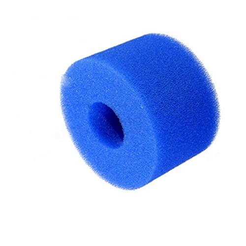 Liadance 1pc Reusable Washable Swimming Pool Filter Foam Hot Tub Filter Cartridge for Swimming Pool Fish Tank