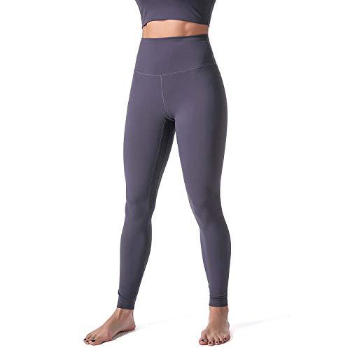 Leggings de Color Sólido para Mujer Pantalones Deportivos Leggins Push Up Mallas de Yoga Pantalón de Cintura Alta Jeggings Transpirables Elásticos para Correr Gym Fitness