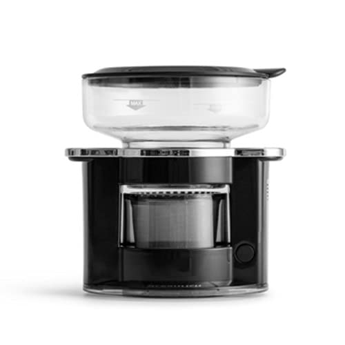Yifuty Máquina de café de Mano Máquina de café de Goteo automática, Taza de preparación Manual fácil de Usar, máquina de café Inteligente, máquina de café de Filtro, Adecuada para su hogar u Oficina