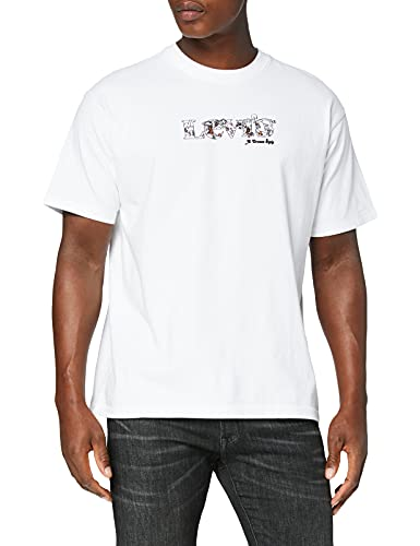 Levi's Vintage Fit Graphic tee Camiseta, Mv Logo Fill White, M para Hombre