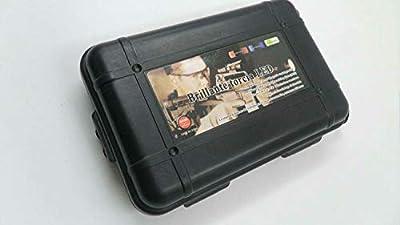 ZZUUS Black Broadhead Box (Hold 12pcs Broadheads) Plastic Protector Portable Broadhead Case