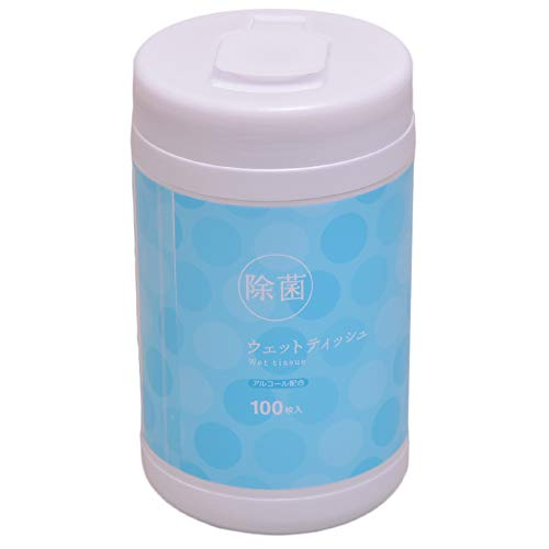 ウェットティッシュ アルコール除菌 保湿 本体 100枚入 ウェットティッシュ除菌