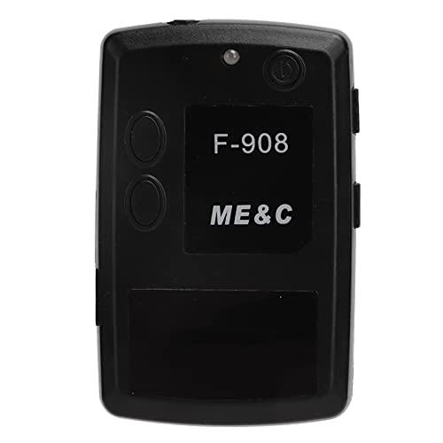 Walkie Talkie portátil F908, receptor de transmisor inalámbrico, radio de seguridad de 2 vías con auricular, sistema de intercomunicación inalámbrico recargable para negocios, escuela, senderismo, ext