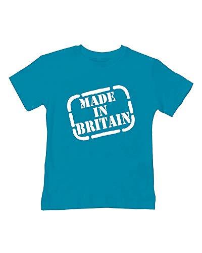 Ice-Tees T-shirt d'été pour bébé et enfant Fabriqué en Grande-Bretagne - Turquoise - 2-3 ans