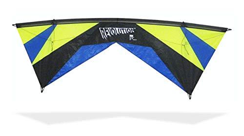 Revolution Kites Reflex Lenkdrachen Experience EXP LIM/Blu, Lime/Blue/Black