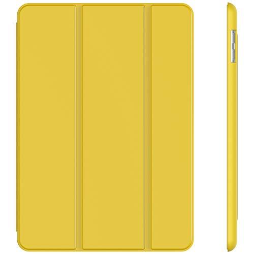 JETech Hülle Kompatibel iPad (9,7 Zoll, Modell 2018/2017, 6. / 5. Generation), Intelligent Schutzhülle mit Auto Schlafen/Wachen, Gelb