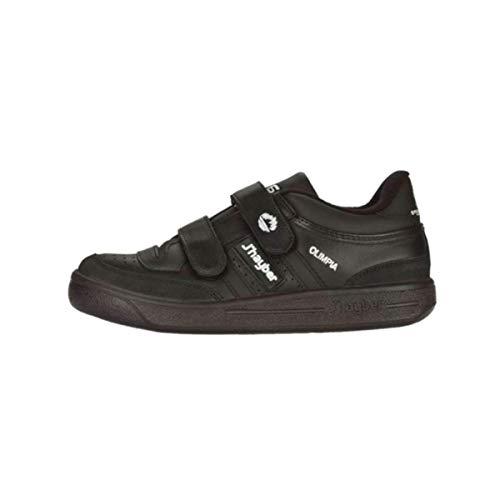 J-Hayber Olimpia - Zapatillas unisex, color negro, Negro (Black), 44