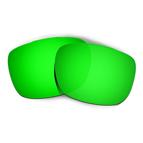 HKUCO Plus Mens Replacement Lenses For Oakley TwoFace Sunglasses Emerald Green Polarized
