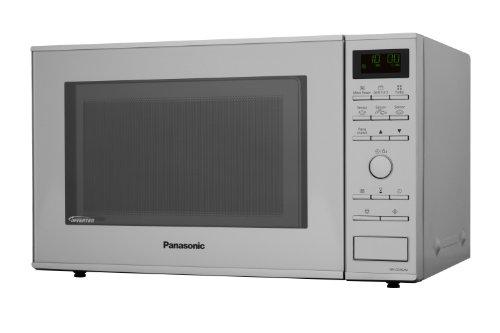 Panasonic NN-GD 462 MEPG - Microondas (1000W, 31 litros), color Plateado [Versión Importada]