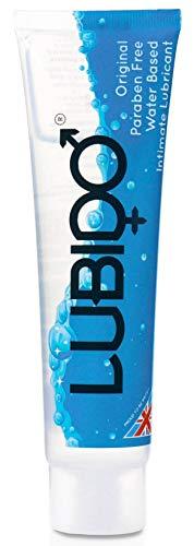 Lubido Gleitmittel für den Intimbereich ohne Parabene, 100 ml