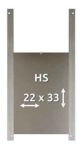 AXT ELECTRONIC Trappe de poulailler en aluminium HS