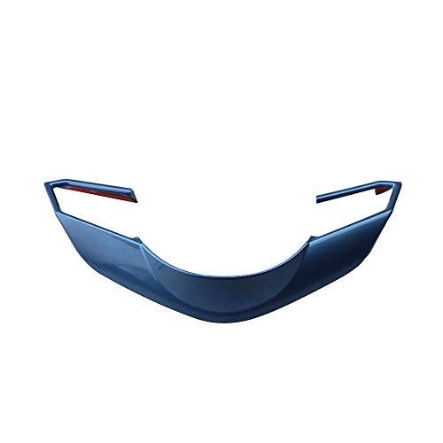 NCUIXZH Auto Lenkrad Trimm Kreis Pailletten Cover Aufkleber , für Mazda 3 6 CX3 CX-3 CX-5 CX5 CX8 CX 9 Axela ATENZA 2017 2018 Zubehör-Blau