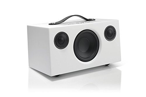 Audio Pro Addon C5 - Altavoz , con Alexa Integrada, (40 Watt, Multiroom, Stereo, WiFi, Bluetooth, App, Air Play, Music Apps (Spotify, Tidal, Deezer), radio por internet como TuneIn) Color Blanco