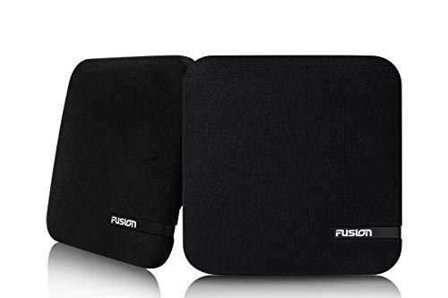 Fusion SM-F65CB, Shallow Mount Spkr, 6.5', Cloth Black - a Garmin Brand