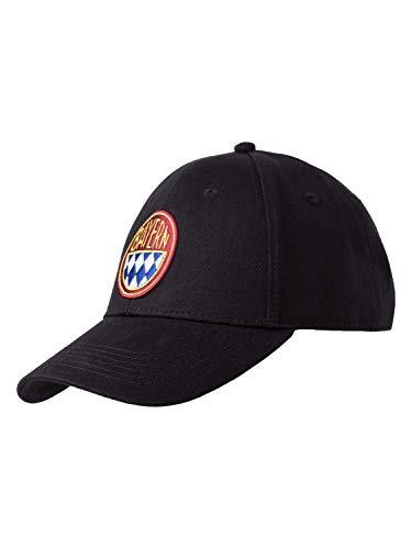 FC Bayern München Baseballcap Retro schwarz