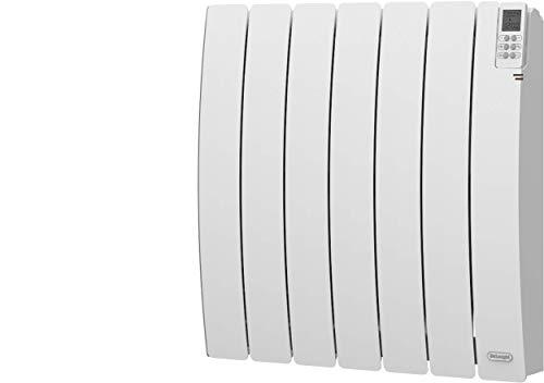 DE'LONGHI 275466 LONGHI-Radiateur Fluide Caloporteur en Aluminium-Gamme Rubino-1000 Watts-Écran LCD-Avec Télécommande