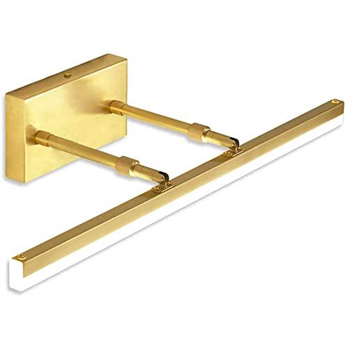YSDQ LED Luces de Espejo, Luz de Pared de gabinete de Accesorio de luz de tocador de Bao con atenuacin Ajustable, para iluminacin de Bao de Maquillaje