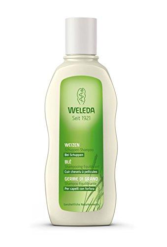 Weleda Shampoing équilibrant au Blé cuir chevelu à pellicules 190ml