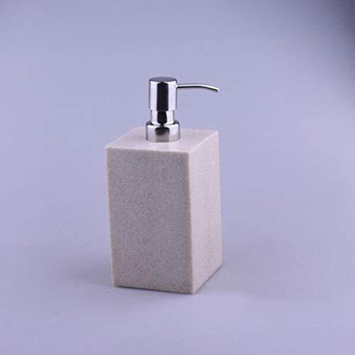 Piedra dispensador de jabón, piedra de la resina, altamente eficaz dispensador de jabón, resina, accesorios for el hogar con accesorios de la bomba, Cocina Cuarto de baño WC , Accesorios de decoracion