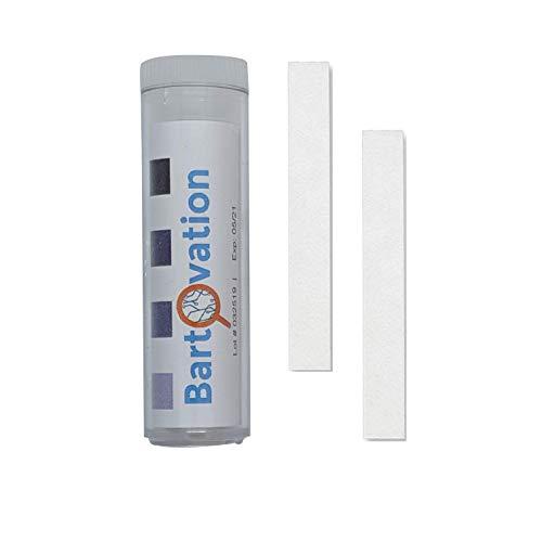 USA Made Restaurant Sanitizer Chlorine Bleach Test Paper  10-200 ppm [Vial of 100 Paper Strips]