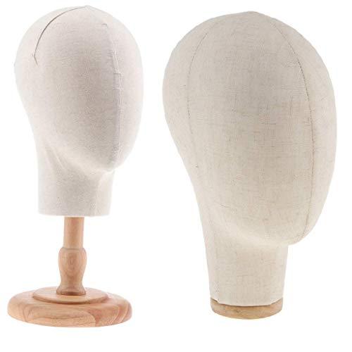 Backbayia Schablone für Hut und Brille, Maniküre-Modell mit Halterung