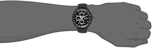 Tag Heuer Formula 1 Homme 44mm Bracelet Cuir Boitier Acier Inoxydable Automatique Montre...