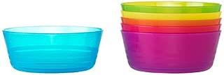 Ikea Kalas 301.929.60 BPA-Free Bowl, Assorted Colors, Set of 2, 6-Pack