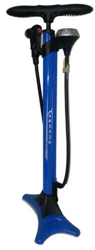 SERFAS 自転車 高圧空気入れ エアフロアポンプ 仏式/米式/英式/ボール/ボートバルブアダプター エアゲージ ロードバイク B0013AOPES 1枚目