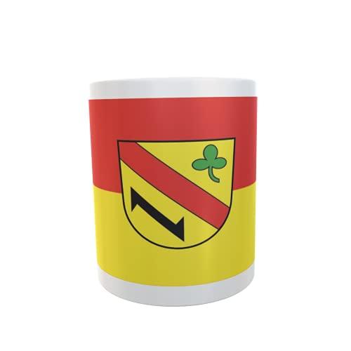 U24 Tasse Kaffeebecher Mug Cup Flagge Kuppenheim