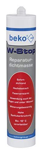 BEKO 2371310 W-Stop Reparaturdichtmasse 310 ml grau