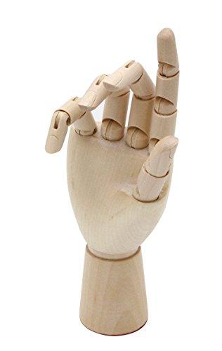 Meister Modellhand - Gliederhand 18 cm hoch, rechte Hand