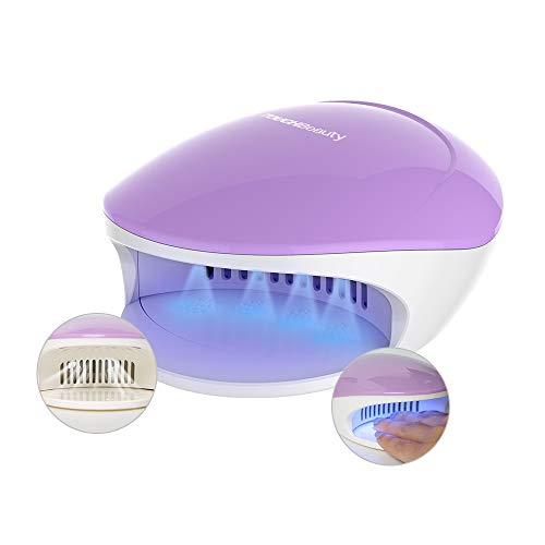 Nageltrockner mit Gebläse für Normale Nagellacke,TOUCHBeauty 2 in 1 UV LED Licht-Lampe Gelnägel...