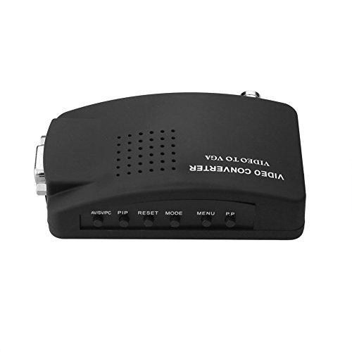 S-Video BNC video al PC del convertitore del VGA Box 1920 x 1080@60HZ 1920 x 1200@60HZ VGA/S-video/BNC to VGA Converter Switch.