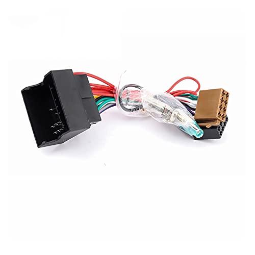 Development Audio estéreo de automóvil YO ASI Cable de arnés de cableado Apto para Peugeot 207 307 30 7CC 407 Apto para Citroen C2 C5 Adaptador de Alambre de Antena de Radio