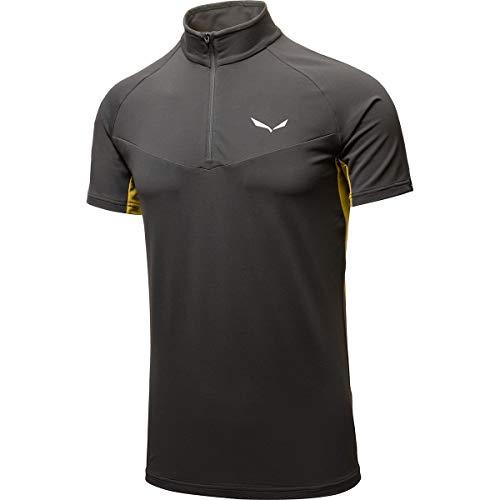 Salewa Agner Climb 2 Dry M S/S Hz T-Shirt pour Homme, Homme, T-Shirts, 00-0000026984, Aimant/5730, s