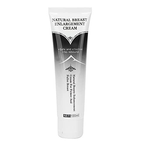 Crema para el cuidado de los senos de 100 ml, crema de masaje reafirmante para el pecho, crema para levantar los senos, crema regordeta para una forma de cuerpo encantadora