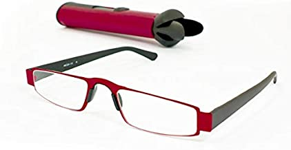 iMAGS: Executive Reading Glasses with Protective Hard Case (1.00, Red)