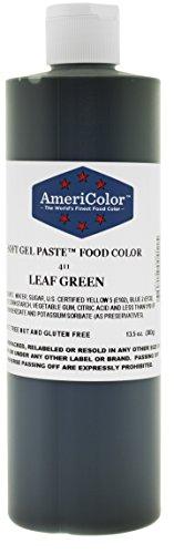 Americolor Soft Gel Paste Food Color, 13.5-Ounce, Leaf Green