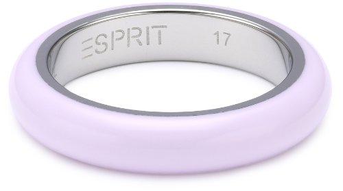 ESPRIT Jewels - Anillo de Acero Inoxidable, Talla 17 (18,16 mm)