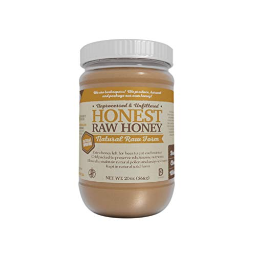 Honest Raw Honey (20oz)