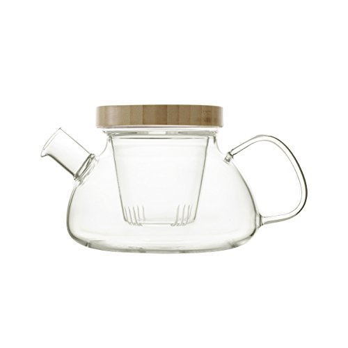emoi Traditionelles, chinesiches Glas-Tee-Set, 5-teilig