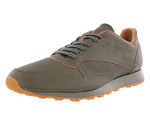 Reebok Men's CL Leather Lux Kendrick Olive Night/Gum Shoe