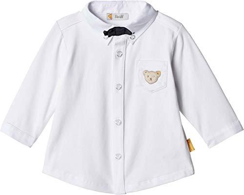 Steiff Baby-Jungen 1/1 Arm Hemd, Weiß (Bright White 1000), 80