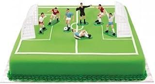 Decora 0816010 - Set de fútbol con 7 jugadores de 4.2 a 5 H
