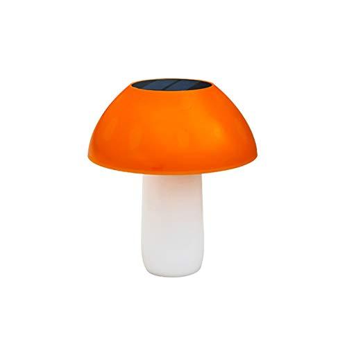 KANGLE-DERI Luz Solar LED para Césped para Exteriores, Luz Impermeable para Setas De Jardín, Luz Decorativa De Control De Luz Inteligente, Adecuada para Jardín/Camino/Patio/Césped/Terraza