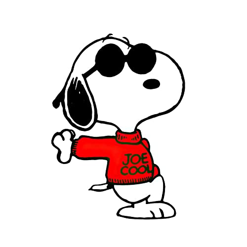 Autoaufkleber Snoopy Woodstock Peanuts Comics Netter Aufkleber für Tablets Laptops Skateboard 2 Stk