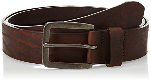 Jack & Jones NOS Jacvictor Leather Belt Noos Cintura, Marrone Black Coffee, 6 (Taglia Produttore: 90) Uomo