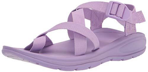Madden Girl Women's Sun Sandal, Lavender, 6.5