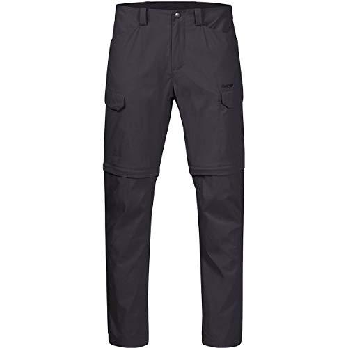 Bergans Utne Zipoff M Pants Grau, Herren Hose, Größe XXL - Farbe Solid Charcoal