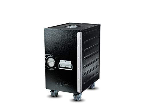 Bordbar Box Hammerschlagoptik Black - mit Bremsen - ohne Zubehör